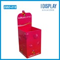 Store Cardboard Dump Bin Display for Retail with Glossy Lamination