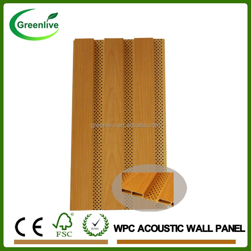 WPC Raw Materials Interior Acoustic Wall Decor