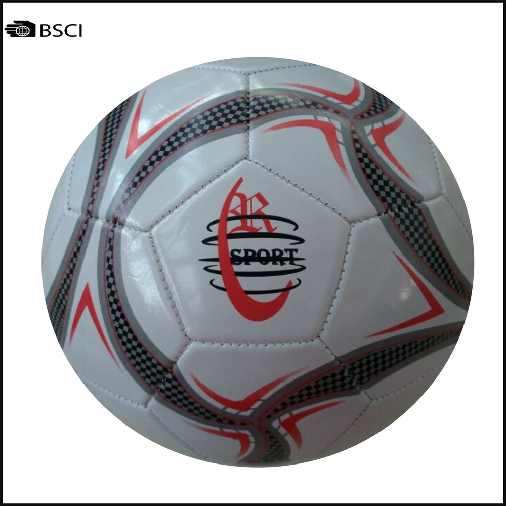 Big Discount For Stock PVC Soccer Ball Size 5