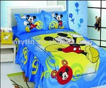 high quality 100% cotton mickey mouse bedding sets for children
