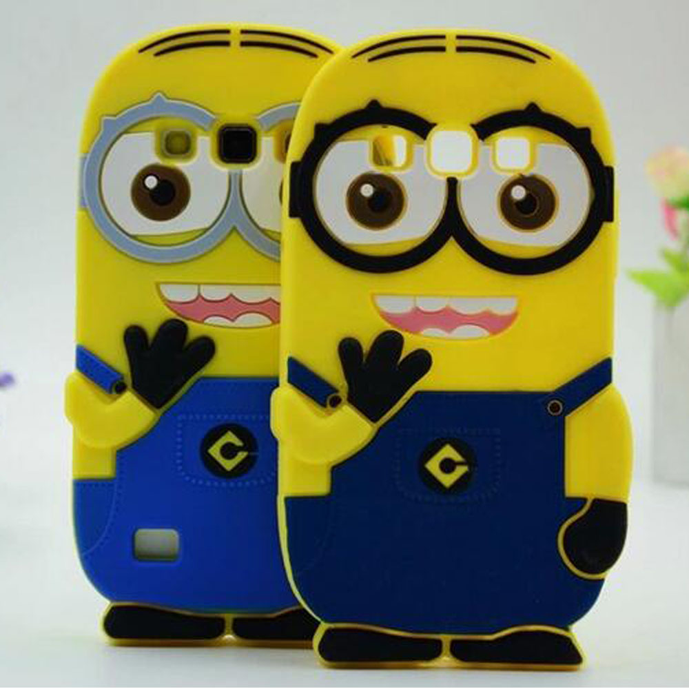 Minion back cover case for samsung galaxy win i8552 grand duos gt-i9082 ace 2 i8160 core i8260 i8262