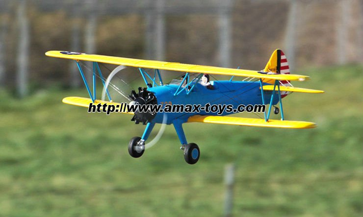 ep-129053 airplane rc PT-17 4CH Double Blade Propellers Extra Large EPO airplane