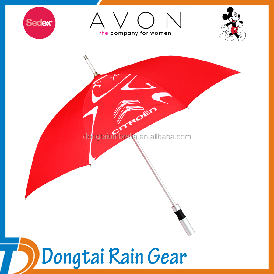Hot and High Quality! 46'' Arc Aluminum Umbrella Advertisment, Straight Umbrella, Umbrella Automatic