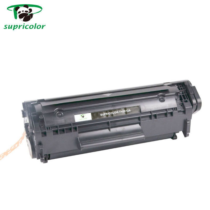 China Top 10 factory supply compatible hp 12a laser toner cartridge