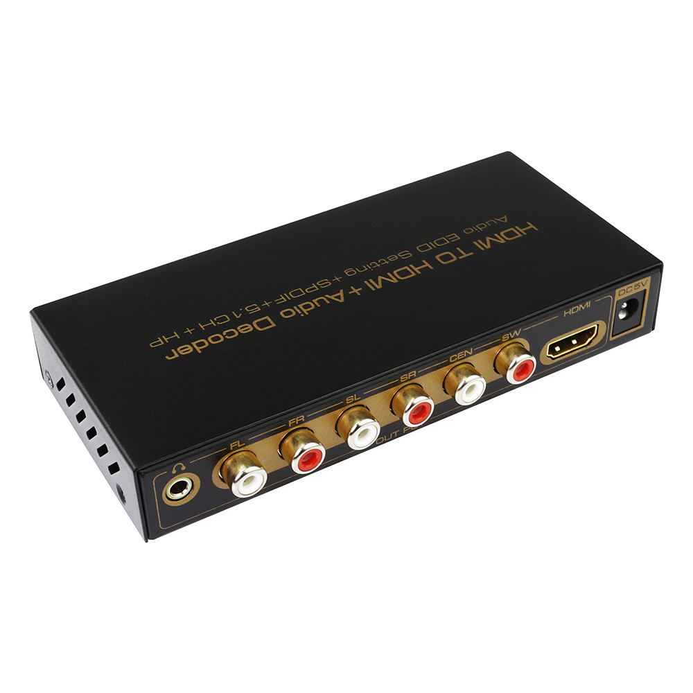 Wholesale alibaba Digital tv signal converter Hdmi to 6 rca cable 5.1 Conterver