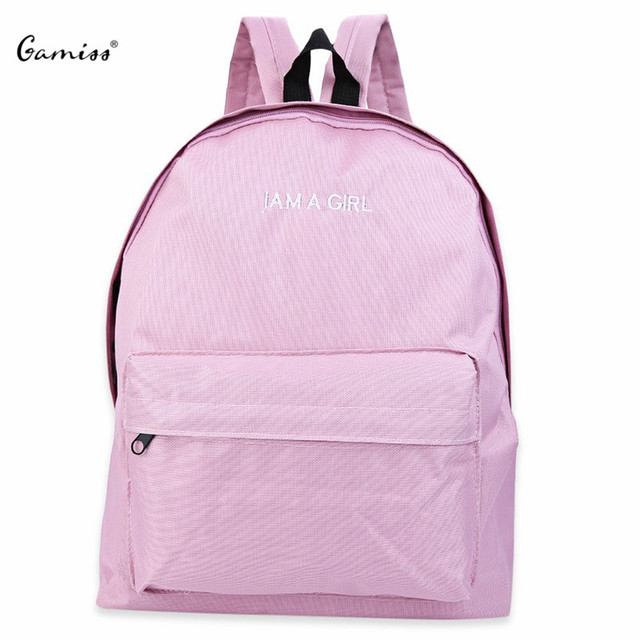 College Students Canvas School Bags Fashion Quality Soft Girls Backpack School Bagpacks Mochila Feminina Women Bags Large Size