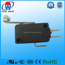 High sensitive micro switch 20a 250vac 25t125