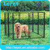 Custom logo high quality large outdoor welded wire modular dog run fence panels