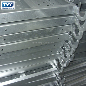 TOP Quality BS1139 Scaffolding Steel Plank Galvanized Catwalk Steel Plank with Hook