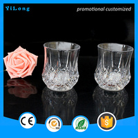 2016 led flashing cup Factory sell lighting promotional champagne led glass cups/led glass/flash glass
