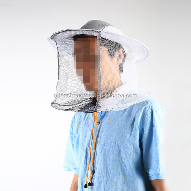Bee Protection Hat Ventilated Cotton Bee Hat For Beekeeping equipment