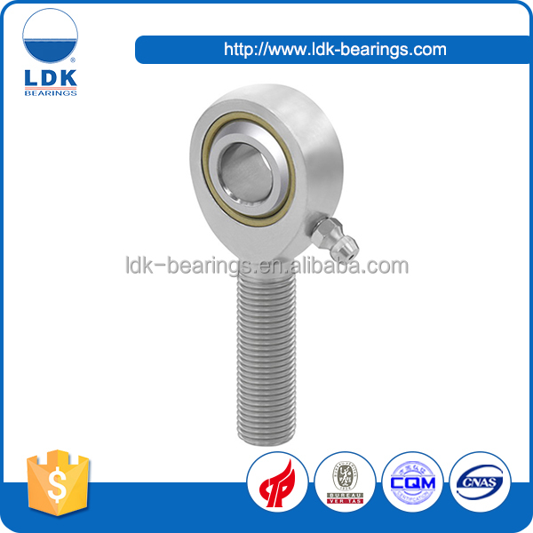 Custom M series inch size high precision threaded ball joint rod ends