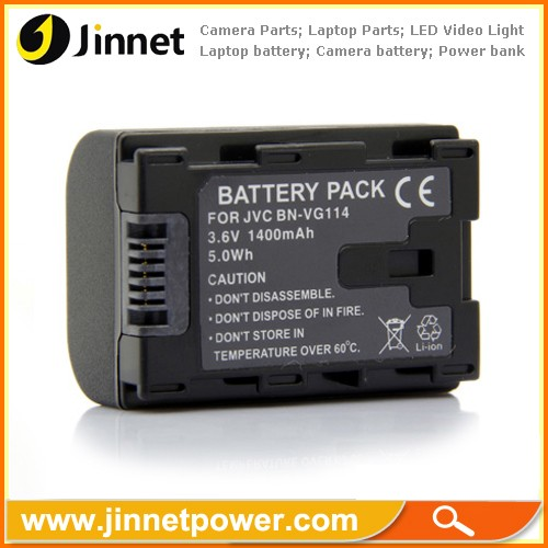 Li-ion Battery Pack For JVC BN-VG114 3.6V 1400mAh 5Wh