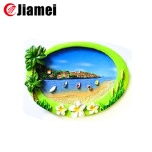 Hot selling beautiful customized landscape prague fridge magnets