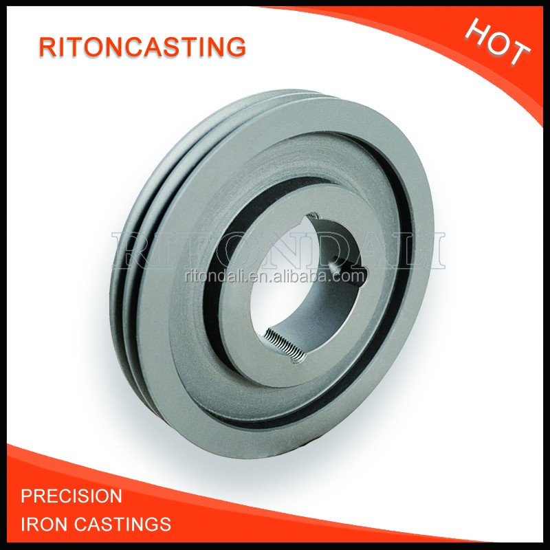 investment casting parts grey ductile iron casting