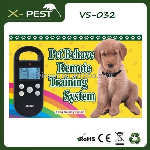 Visson professional electric pet training supplies VS-032 dog training shock and vibration collar