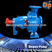 Float high volume low pressure water pumps