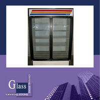 freezer glass door/LED cover glass/lamp cover glass