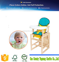 Adjustable Folding Baby High Chair Baby Dining Table And Chair