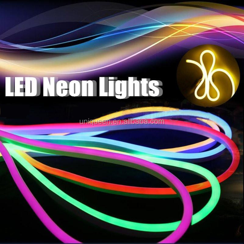 High Bright IP68 Waterproof Neon Flex LED Border Light Easy to Bend Wedding Party Decoration Neon Lighting with Long Lifetime
