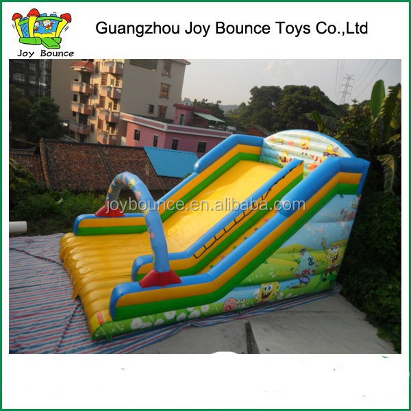 commercial inflatable slide for sale , spongebob , spongebob inflatable water slide