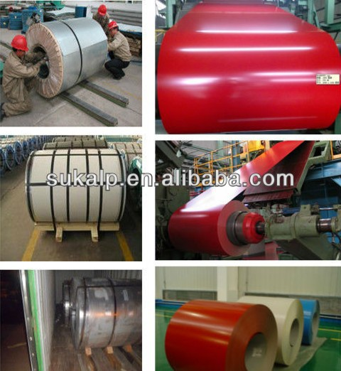 762mm/750mm Prepainted Steel Coil