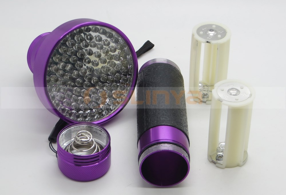Powerful 100LED Urine Detecting Flashlight UV Black Light