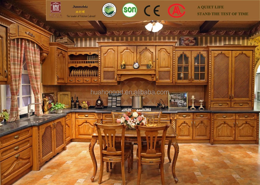 FoShan Pastoral Style Wood Kitchen <strong>Cabinet</strong>,Kitchen <strong>Cabinet</strong> door