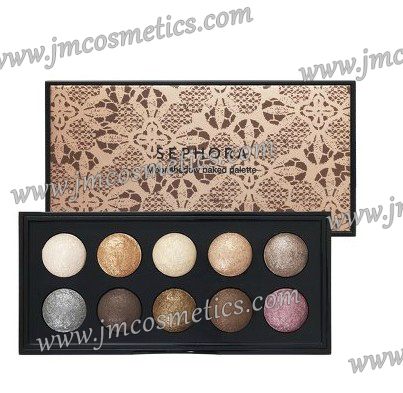 Classical high quality eyeshadow baked powder beauty make-up cosmetic