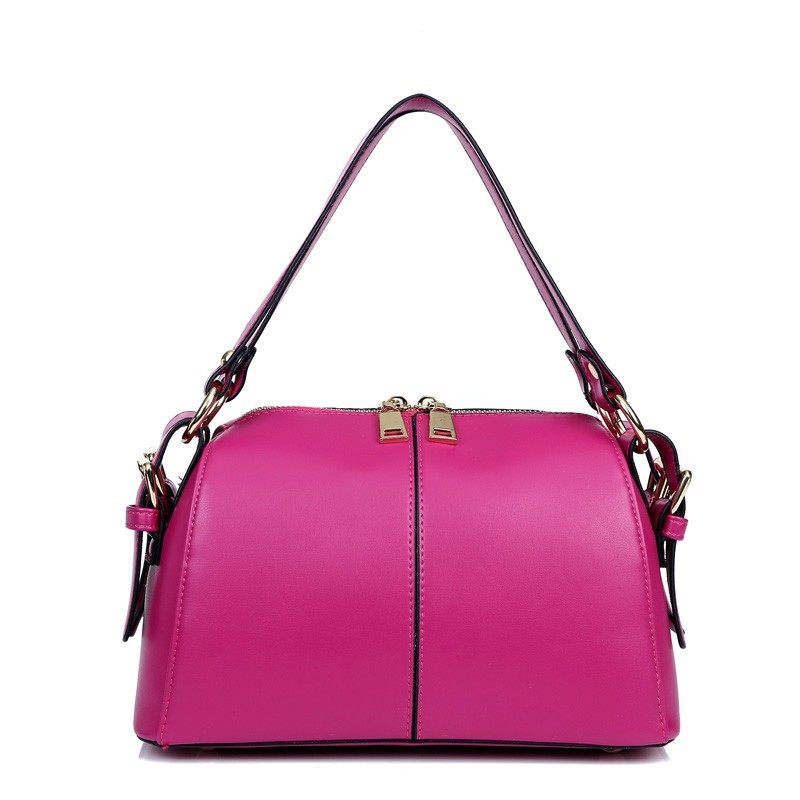 HF1007 customized factory supply genuine leather fashion ladies shoulder bag made in China