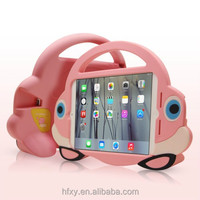 Pink loving car design for ipad mini case for kids
