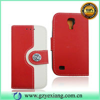 2015 New Item Flip Cover For Samsung Galaxy S4 Mini I9190 I9192 Case