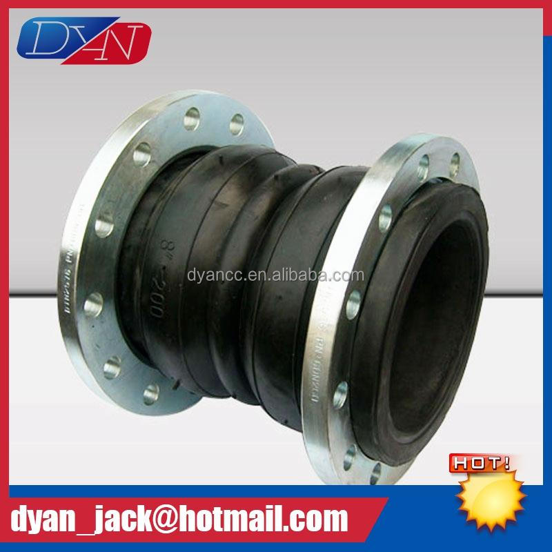 Multifunctional Double Sphere flexible flange joint Oil resistant