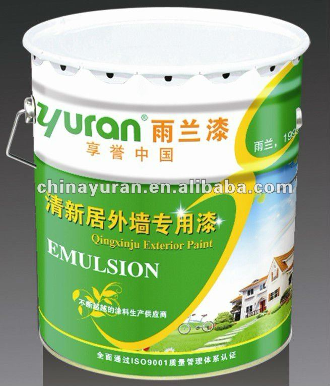 Low VOC Emulsion Paint For Outside Wall
