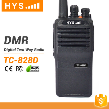 Handheld Radio Talky Walky Best Range Dmr Walkie Talkie With Gps