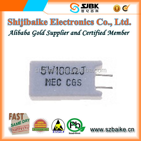 Original New Good Quality and Hot Sale Electronic Components SQMW5100RJ (Through Hole Resistors 100 OHM 5W 5% RADIAL)