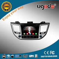 ugode android 4.4/5.1 auto stereo bluetooth car dvd gps player for Hyundai New Tucson 2015