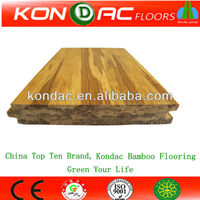 Prefinished Golden Zebra Strand Bamboo Flooring,Tiger Stained Woven Bamboo Flooring