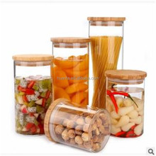 Eco-Friendly Feature and Spice,Food, Sugar,Tea Storage Use Seal Canister/ high borosilicate glass jar