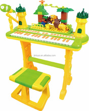 kids play plastic organ musical electronic organ AL021507