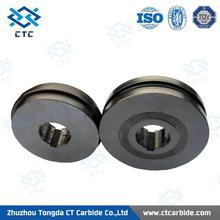 Supply tungsten carbide cold rolls for wire flattening mill