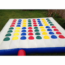 Hot sale funny inflatable twister games, inflatable twister mattress for sale
