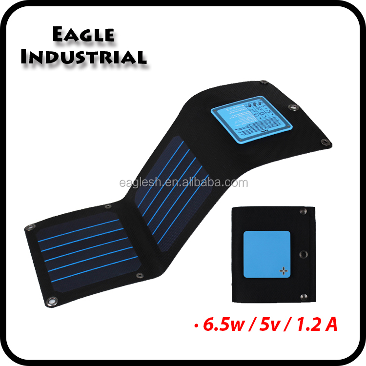 Portable Solar Panel Charger Mobile Phone Accessory
