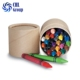 Eco friendly kids safe fancy crayon, wholesale bright color super slick stick, non toxic easily clean water soluble crayon