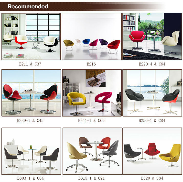 B290 Commercial furniture waiting chairs salso chairs lounge chair replicafabric chair