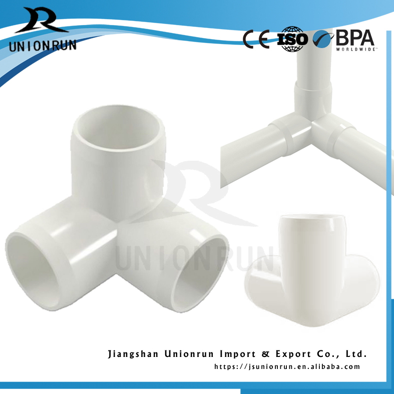 1/2inch to 4 inch DN,ANSI,JIS,CNS,BSPT,NPT,ASTM Standard pvc pipe fitting three way elbow