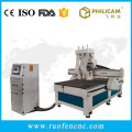 multi-spindle cnc router with auto tool changer engraving machine