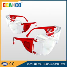 Manufacturer free sample ce en166 and ansi z87.1 safety glasses