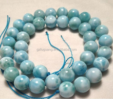 10mm round natural rare larimar beads gemstone beads design