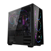 Tempered Glass Gaming Computer Case
